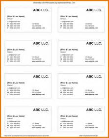 how to make business cards in docs docs business card template template design