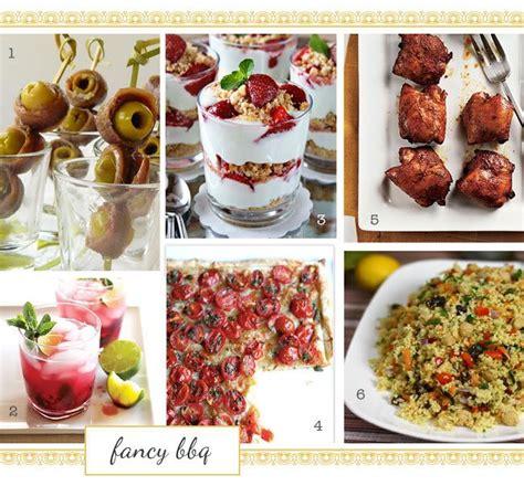 summer bbq menu fancier food ideas pinterest