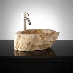 wood bathroom sinks denpasar petrified wood vessel sink bathroom