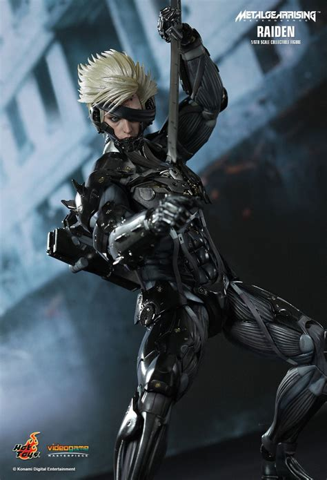 Kaos Raiden Metal Gear Rising metal gear rising raiden 12 quot figure at mighty ape nz