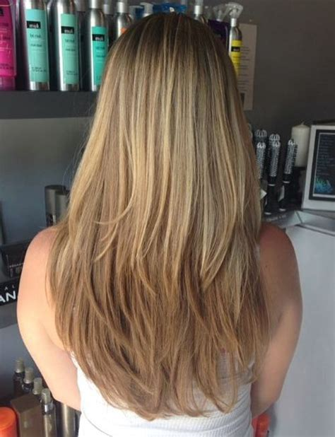 layered beveled point cut best 25 straight layered hair ideas on pinterest long