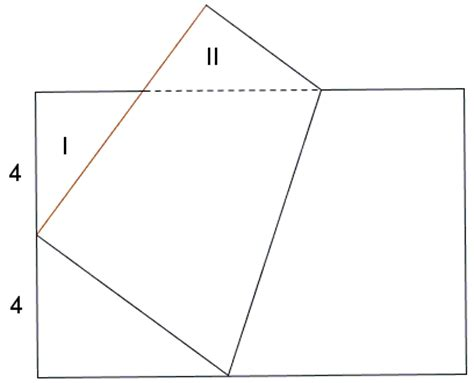 Paper Folding Math Problem - triangle by paper folding ii