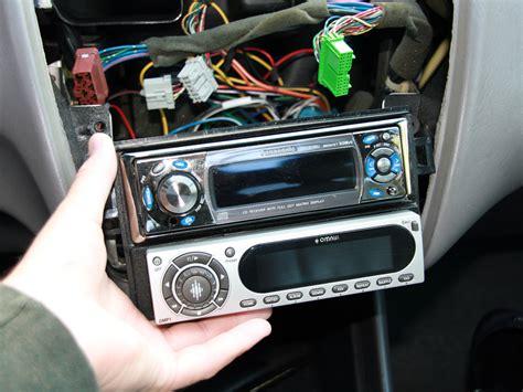 disassembling 1998 2002 honda accord stereo unit