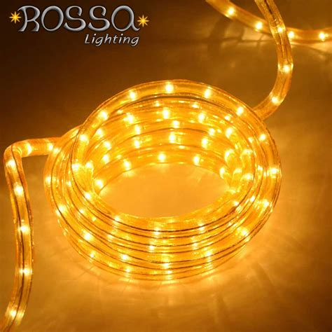 rope lights outdoor led rope light gold led