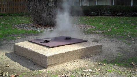 Underground Pit bvd underground smoker