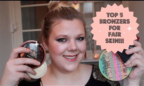 best bronzer for light skin my top 5 bronzers for fair skin and brush suggestions