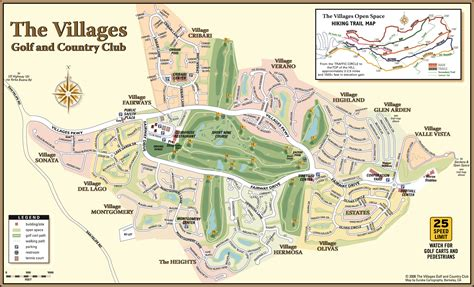 san jose golf map the courses the villages golf and country club