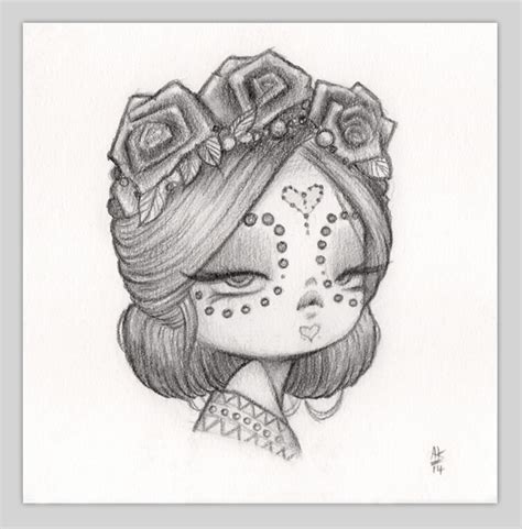 doodle of the day draw something original pencil drawing of woe anarkitty