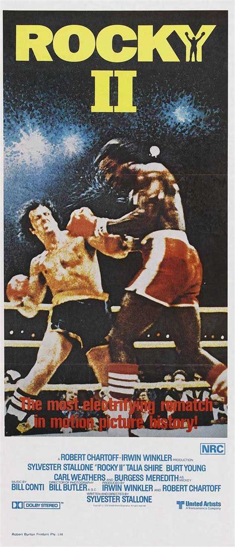 Rocky Ii 1979 Full Movie Rocky 2 1979 Art Of Film Pinterest