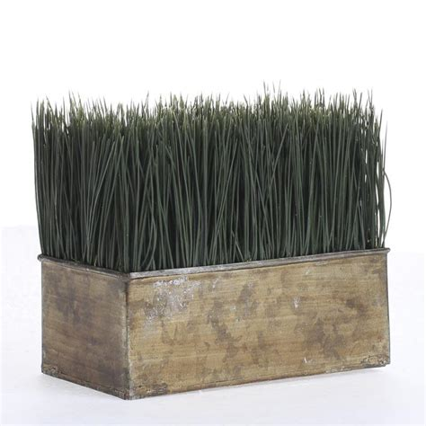 Wheat Grass Planter by Artificial Wheat Grass Planter What S New Craft Supplies