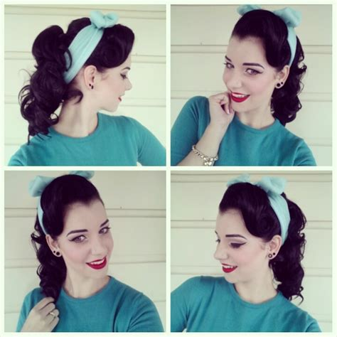 how to do grease hairstyles 50s pony tail pictorial miss victory violet