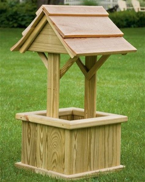backyard well square wishing well ideas for backyard pinterest
