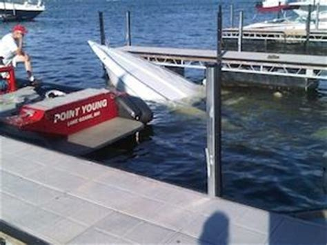 fountain boats lake of the ozarks fountain boat sinks at coconuts dock lake news