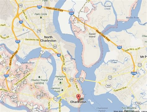 charleston map map charleston afputra