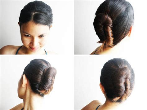 step to step guide on french roll french roll hairstyle step by images hairstyles