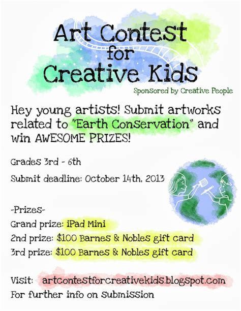 contest for students contest for creative contest poster