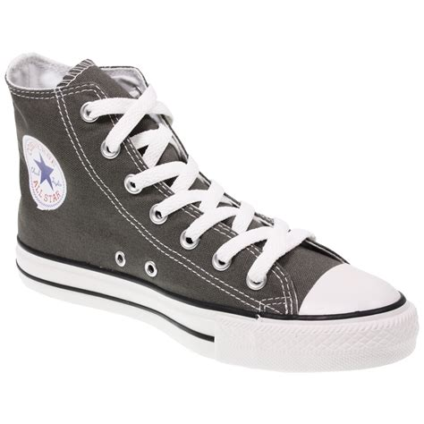 Converse All High Grey converse grey shoes flower delivery co uk