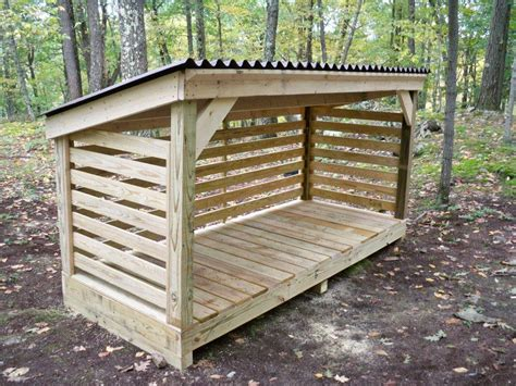 plans  build  firewood storage shed shed roof pole barn