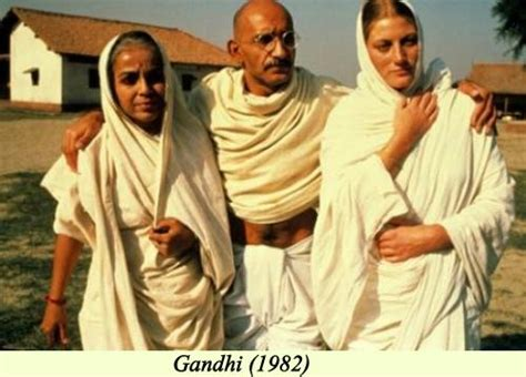 biography of mahatma gandhi movie oscars and india the awards and the indian connection