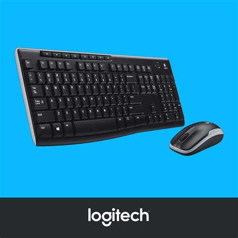 Keyboard Logitech Mk270 logitech mk270 wireless combo brand post nz