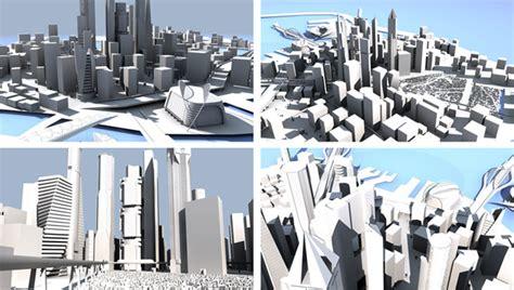 City Of 3d Model Free