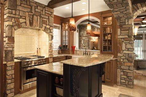 stone kitchen ideas 81 absolutely amazing wood kitchen designs page 2 of 16