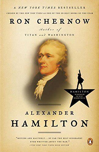 author biography book jacket alexander hamilton