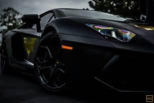 Christian Bale Lamborghini Matte Black Lamborghini Batventador Spotted