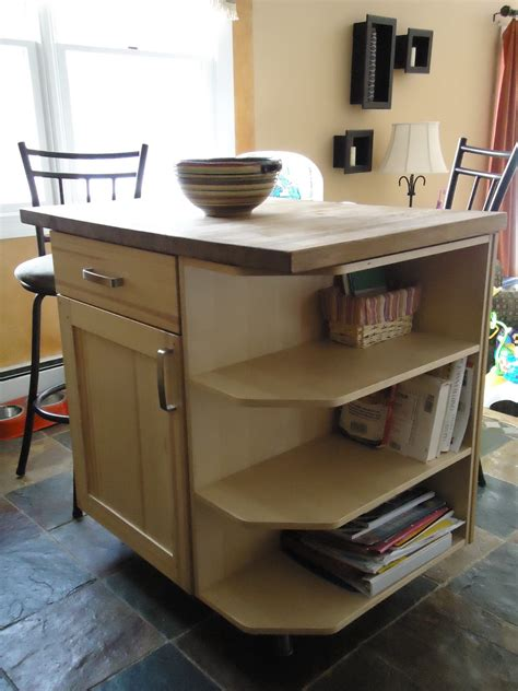 Small Kitchen Butcher Block Island Rustic Brown Wooden Small Butcher Block Island For White Kitchen Homes Showcase
