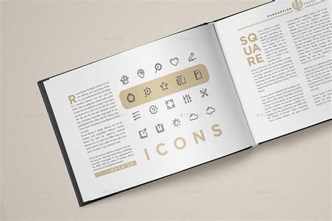 landscape book layout landscape book mock up set by punedesign graphicriver