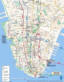 map of manhattan ny printable map of downtown manhattan pictures to pin on pinsdaddy