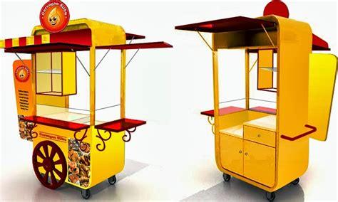 desain gerobak gorengan unik gerobak gorengan siibu rp 5 500 000 gerobak unik