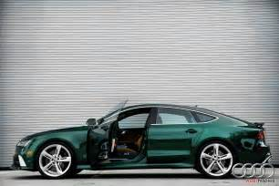 verdant green audi rs7 for sale in florida
