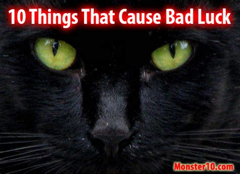 Bad Luck Things | 10 things that cause bad luck