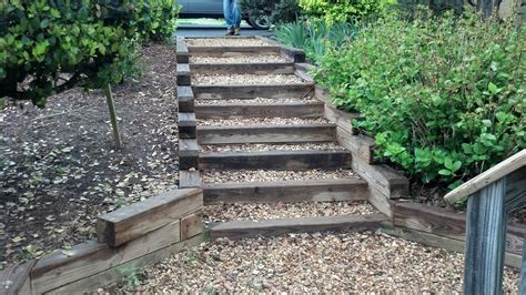 outside steps wonderful outside steps constructed by wooden ladder and
