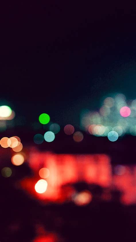 papersco iphone wallpaper nf city night bokeh blue red romantic dark
