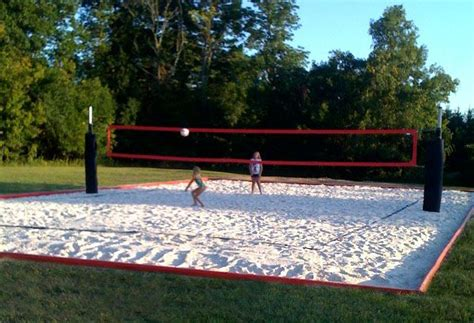 backyard volleyball court the 25 best ideas about volleyball court dimensions on