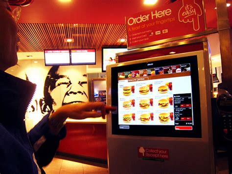 Mcdonalds Automated Kitchen by Mcdonald S New Buying Experience Touch Screen Kiosk