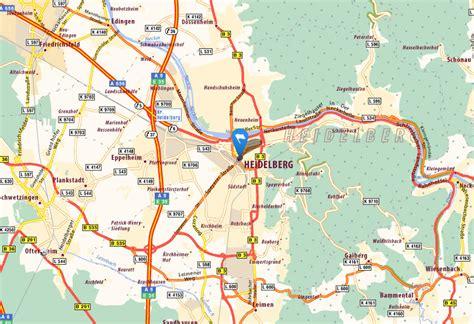 map heidelberg germany heidelberg map and heidelberg satellite image