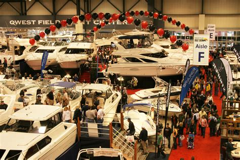boat show pictures seattle boat show yacht charter superyacht news