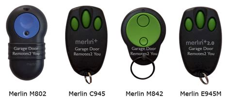 Merlin Garage Remote Controls by Merlin Garage Door Remote Controls