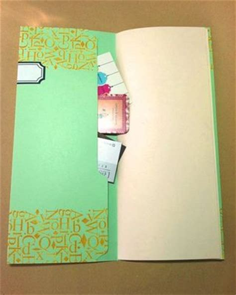 How To Make Handmade Sheet Folder - craftside how to make a file folder book by jeannine stein