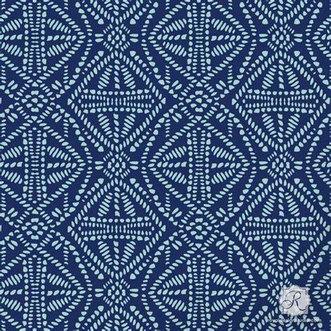 Tribal Batik tribal batik allover craft stencil royal design studio