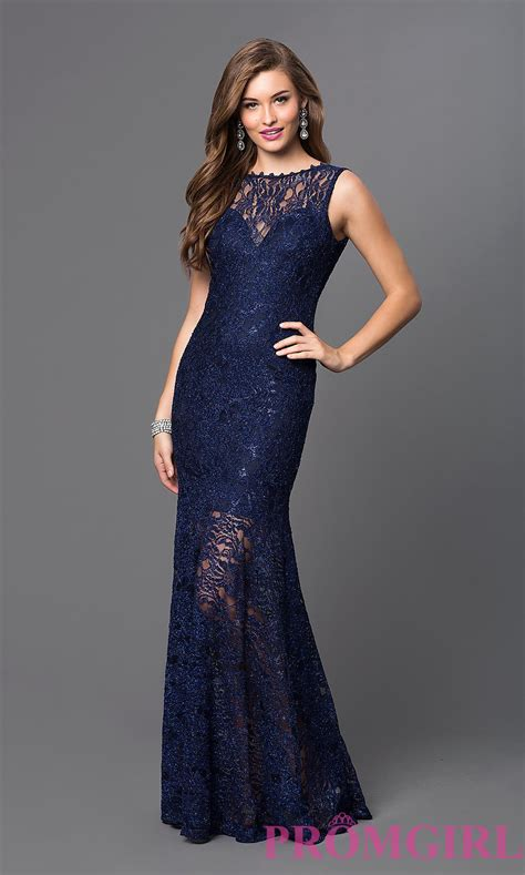 by my michelle lace long gown for prom formal glitter lace long dress promgirl
