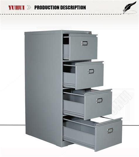 Durable Four Drawer File Cabinets Metal Filing Cabinet