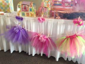 tutu baby shower decorations 25 best images about tutu decorations on tulle poms ballerina and baby shower table