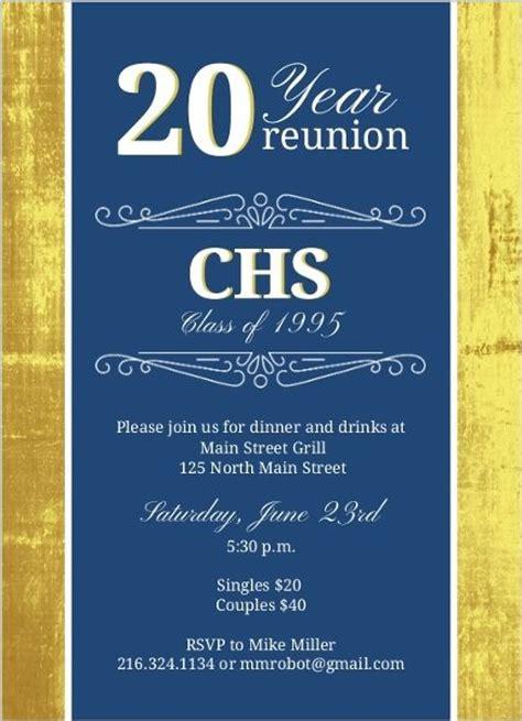 best 25 class reunion invitations ideas on pinterest