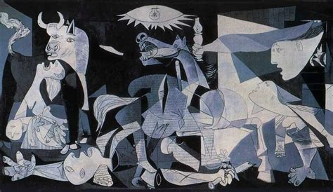 picasso paintings guernica el guernica the bartender never gets killed
