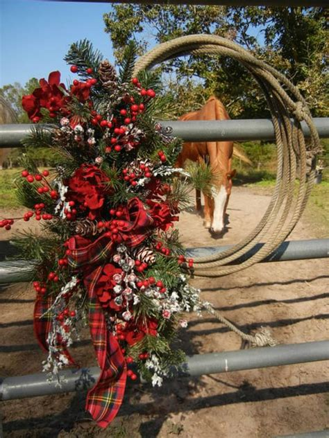 how to decorate a tree in western western wreaths magazine