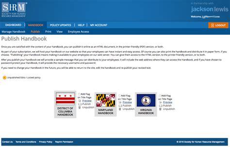Employee Handbooks Employee Website Template